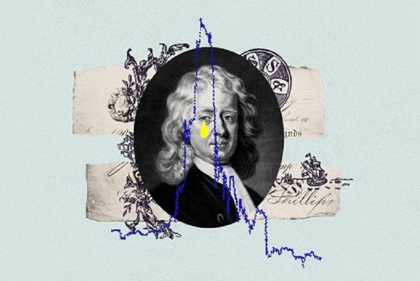 الگوی نیوتن در بورس بورسدان